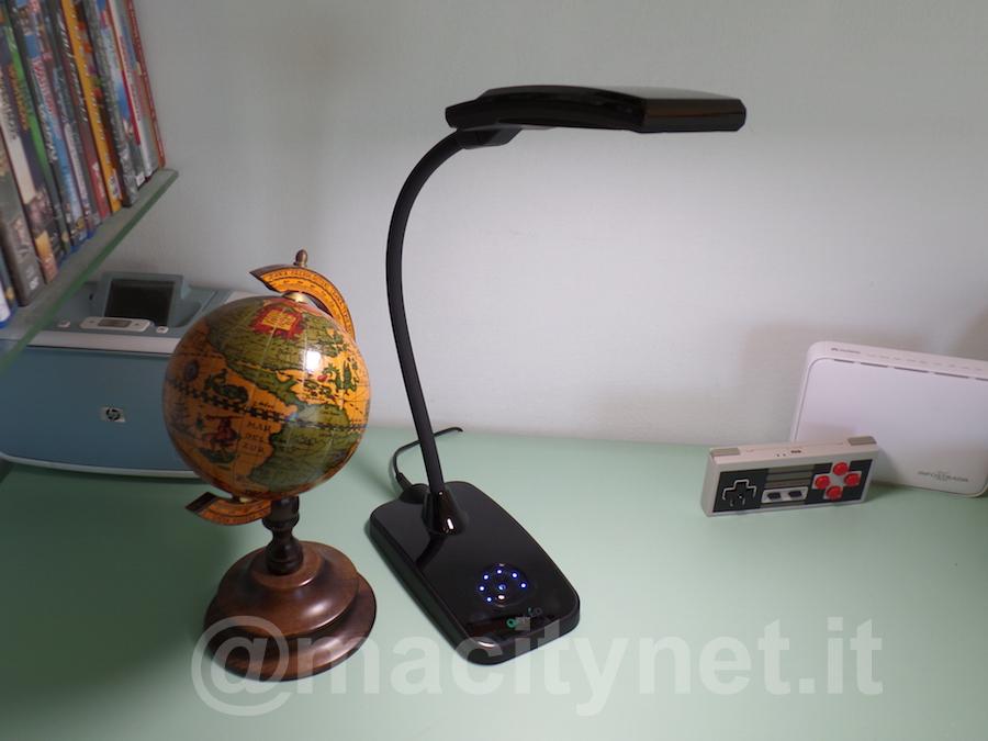 La lampada risulta molto elegante