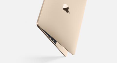 nuovo macbook oro