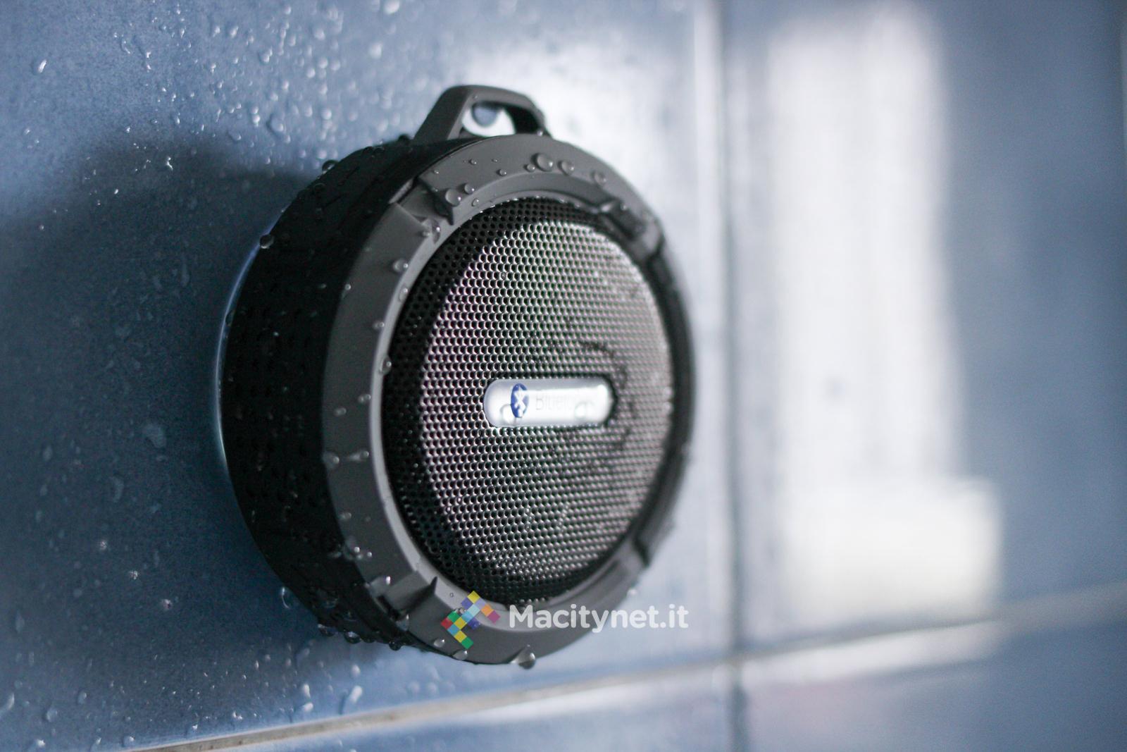 recensione patuoxun c6 speaker bluetooth da doccia con