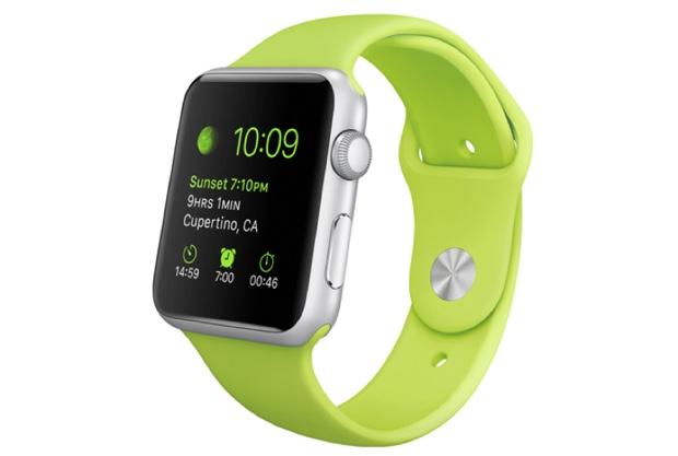 autonomia apple watch sport verde 600