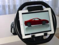 KOLOS, su Kickstarter il volante iPad per i giochi di corsa