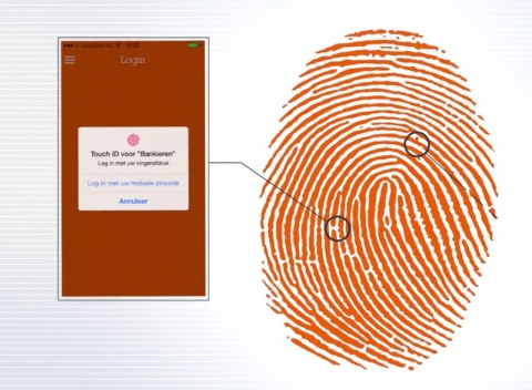 touch id ing home banking mobile