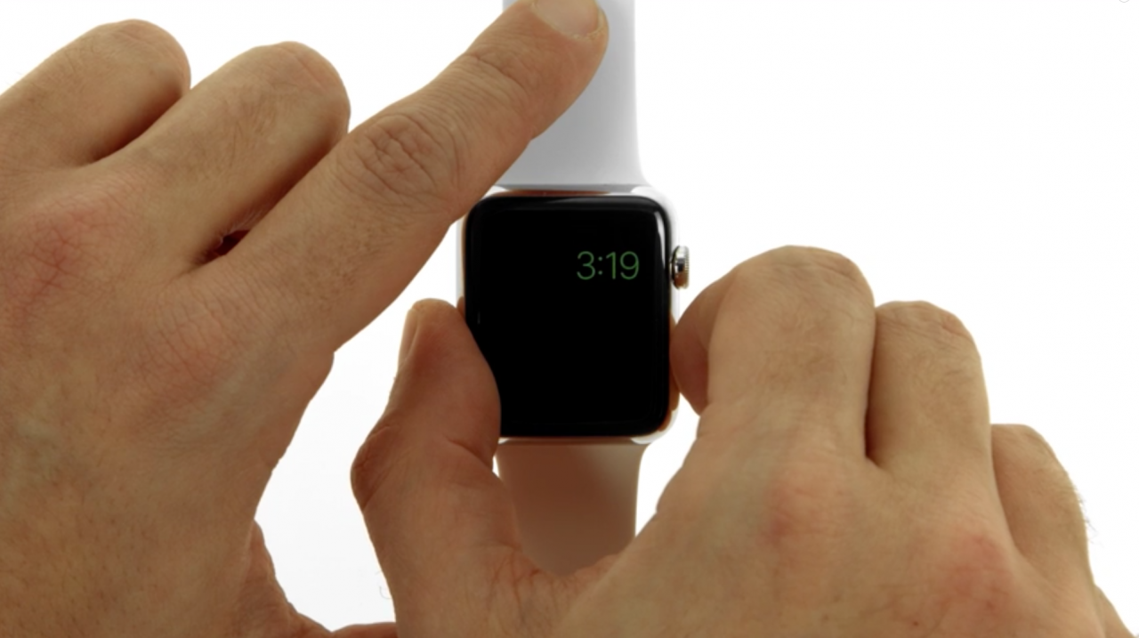 risparmio energia Apple Watch