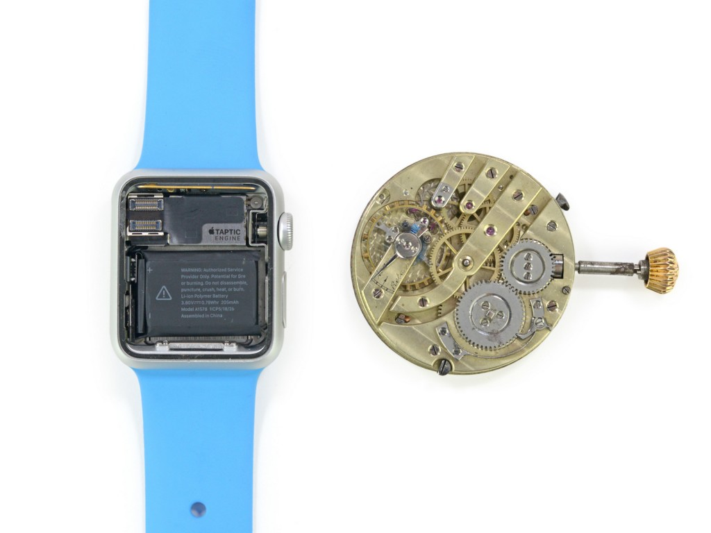 Apple Watch smontato