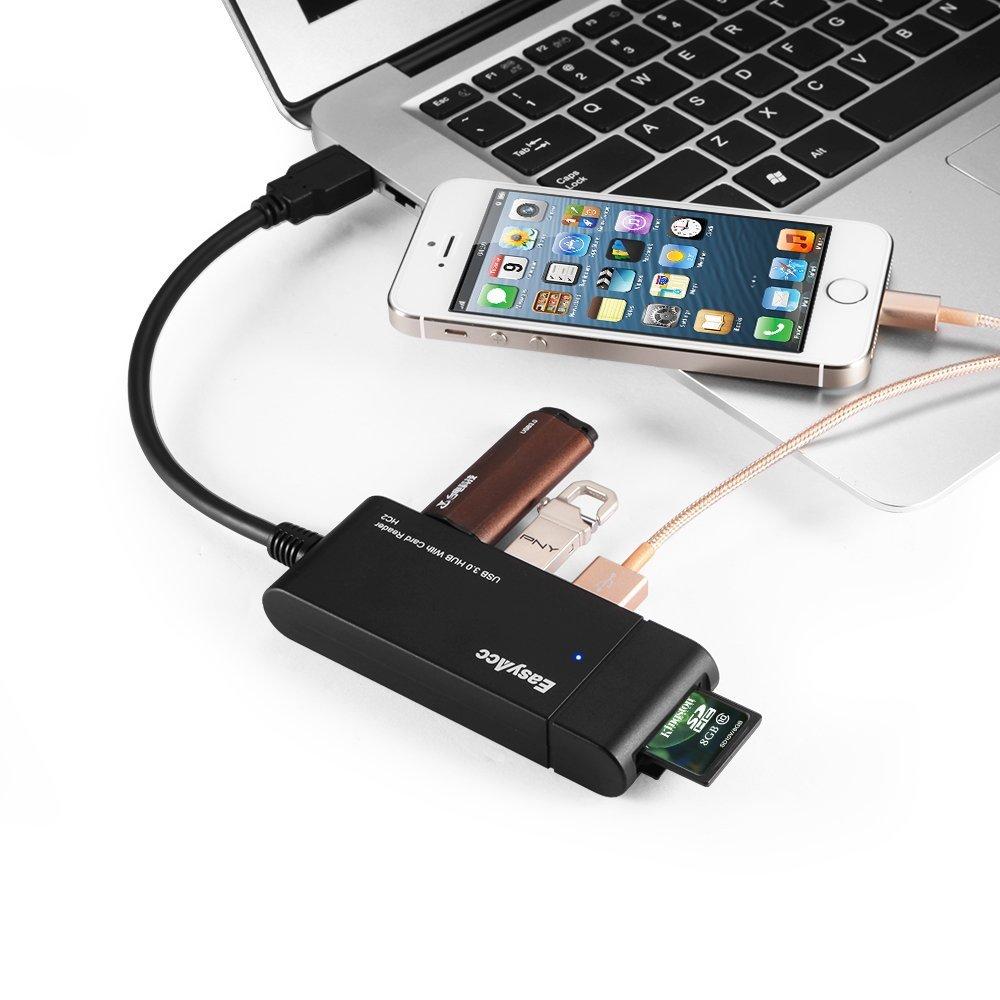 Ultimo giorno a 24€ per HUB con 3 USB e lettore SD e microSD