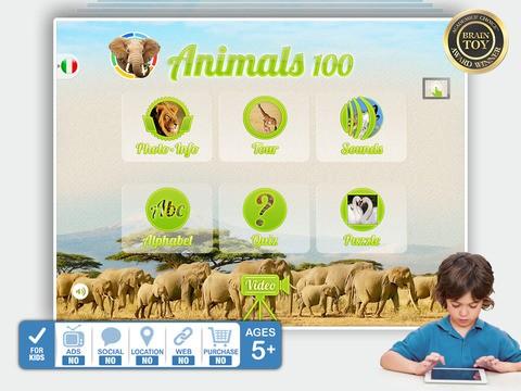 Animals 100 Animali reali