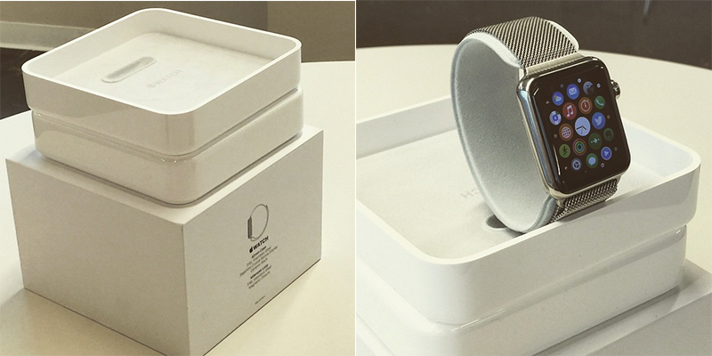 Confezione apple watch le foto della scatola for Mac due the box