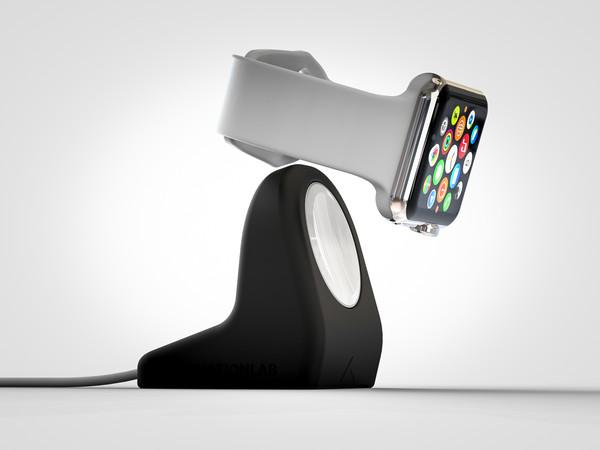 NightStand, sostegno economico e di stile per ricaricare Apple Watch