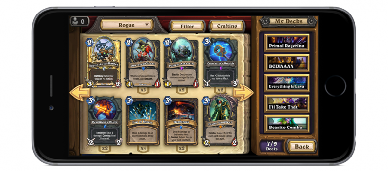 Hearthstone iphone blizzard