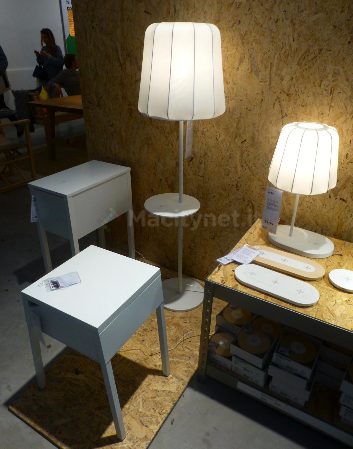 Energia senza fili, prezzi e caratteristiche di mobili e accessori IKEA ricarica wireless ...