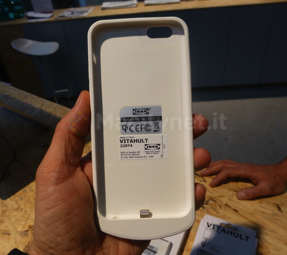 custodia iphone 7 plus ricarica wireless