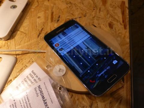 IKEA ricarica wireless milano 8 galaxy