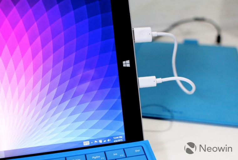 """Microsoft, il Surface 3 con la ricarica """"infinita""""...."""