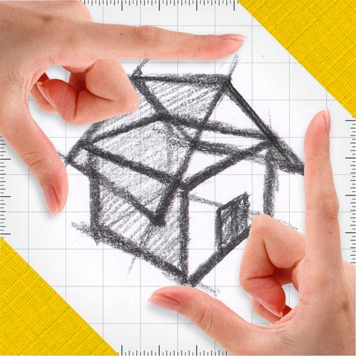 Orthograph aggiornata l 39 app per disegnare planimetrie con for Software per planimetrie