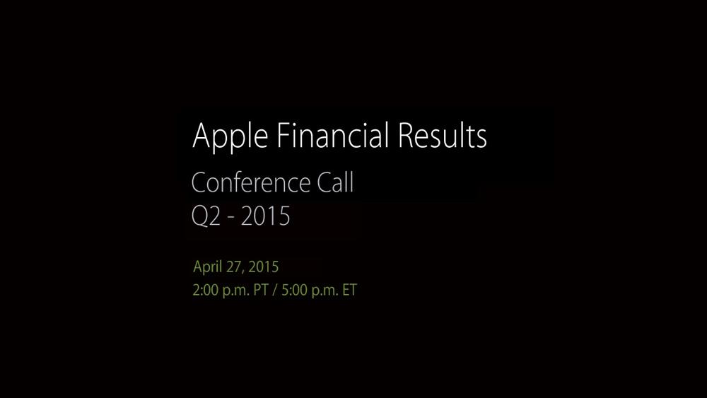 Risultati Apple Q2 2015 1200