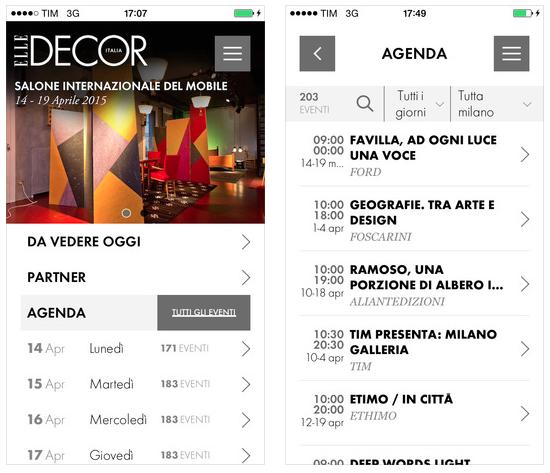 salone del mobile 2015 in un 39 app la guida e gli