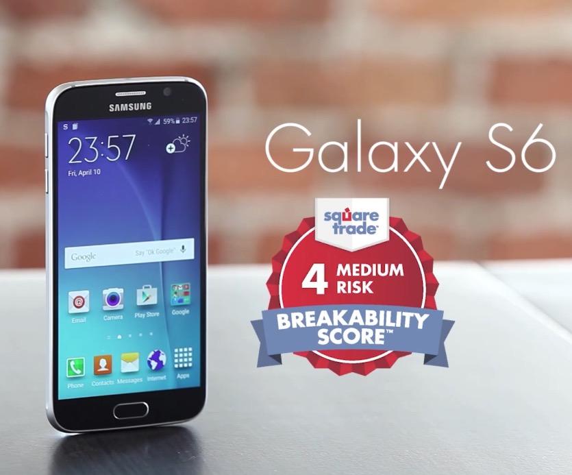 Galaxy S6 è il più resistente di tutti: il test di Square Trade in un video