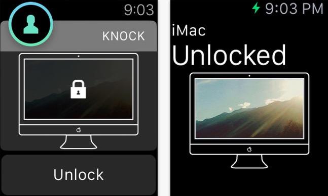 Sbloccare il Mac - knock