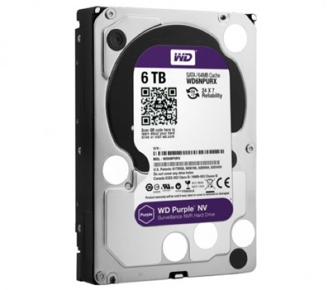 WD Purple NV - 6TB low