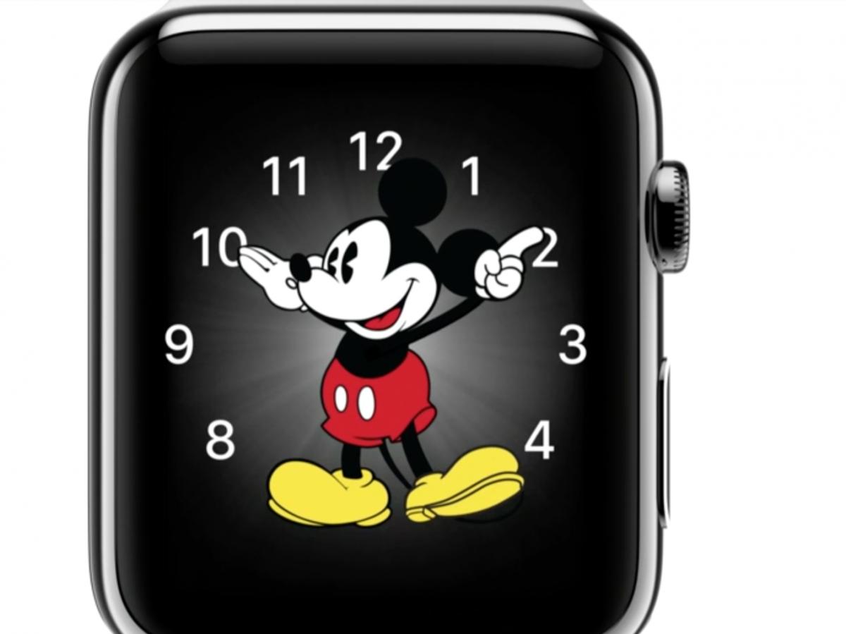 Topolino E Meduse Di Apple Watch Centinaia Di Ore Di Lavoro Anche
