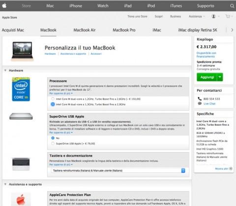 macbook 12 prezzo top 620