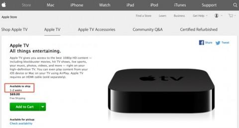 nuova apple tv usa 1-2 settimane 620