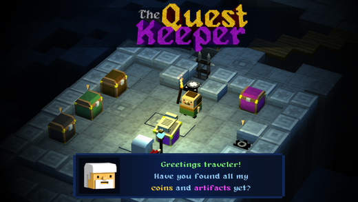 The Quest Keeper, il dungeon game infinito ispirato a Crossy Road