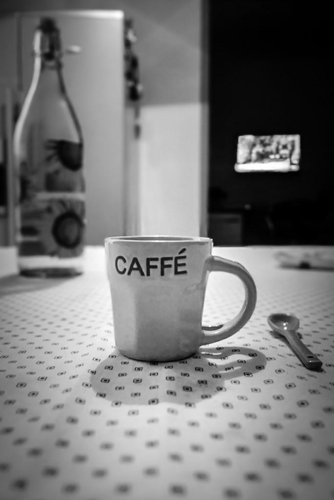 In questo caso il soggetto, la tazzina del caffè, è ben evidente
