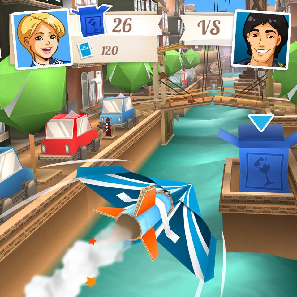 Jets Flying Adventure, sorvola Amsterdam su un'aereo di carta, gratis su iOS