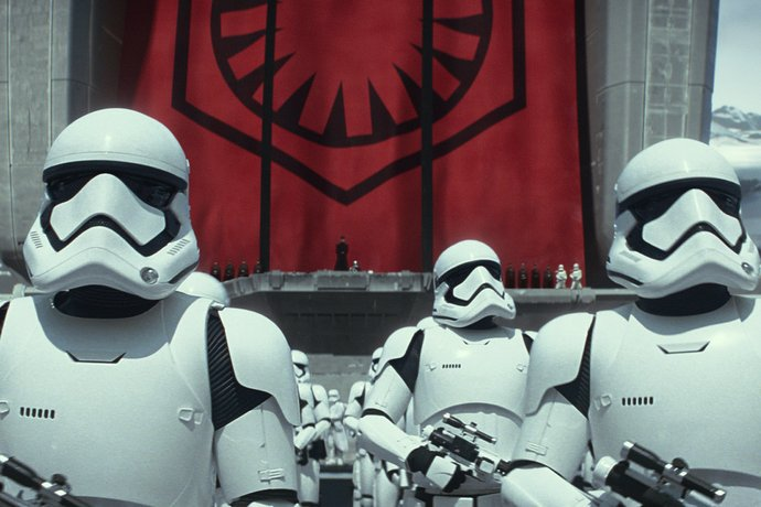 record Star Wars stormtroopers