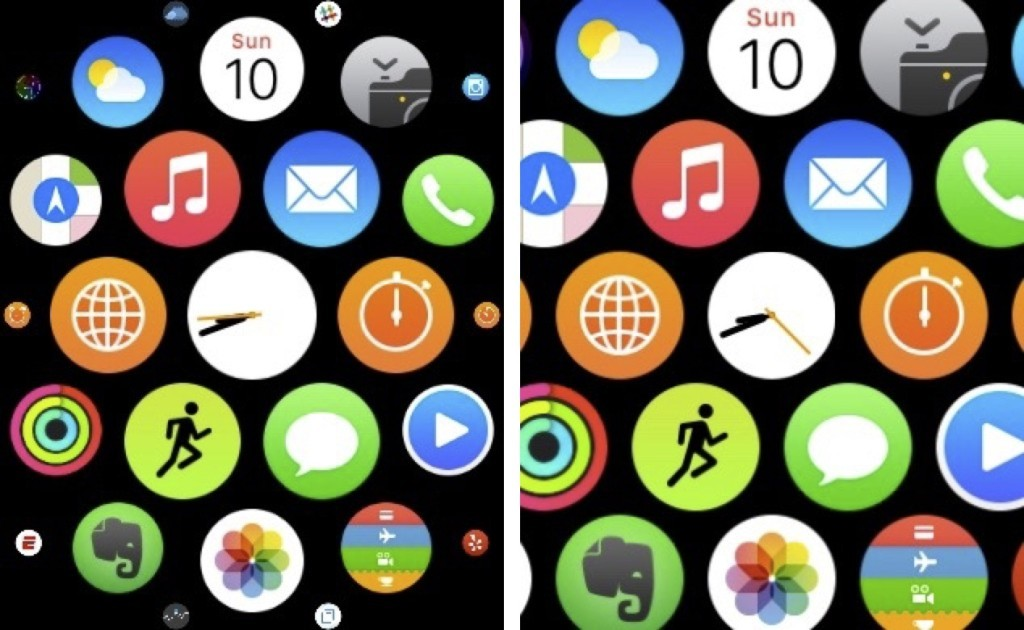 icone grandi Apple watch