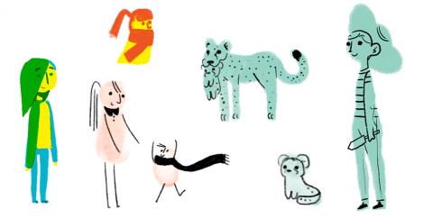 Festa della mamma Doodle
