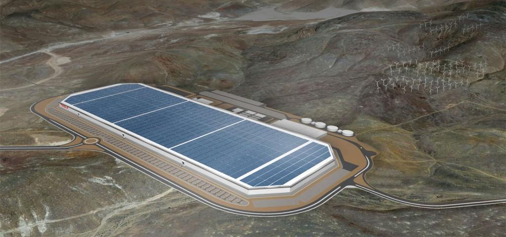 GIgafactory batterie di Tesla