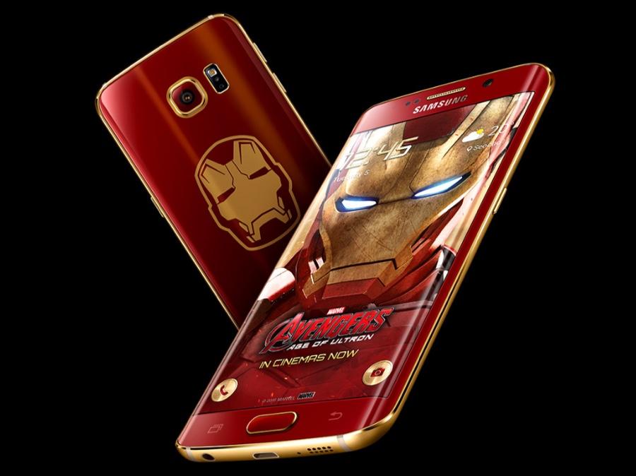 Galaxy S6 Edge Iron Man icon 900