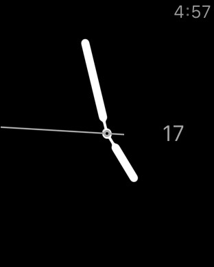 orologio digitale Apple watch