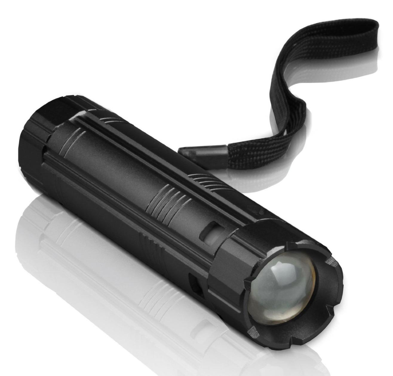 Torcia LED in alluminio con funzione caricabatterie sconto Macitynet a 15,99 euro - Macitynet.it