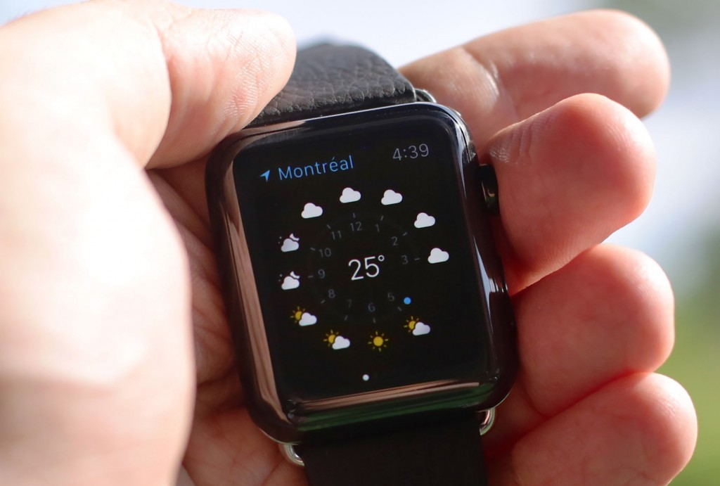 Meteo Apple Watch, tutti i metodi per controllarlo dal polso