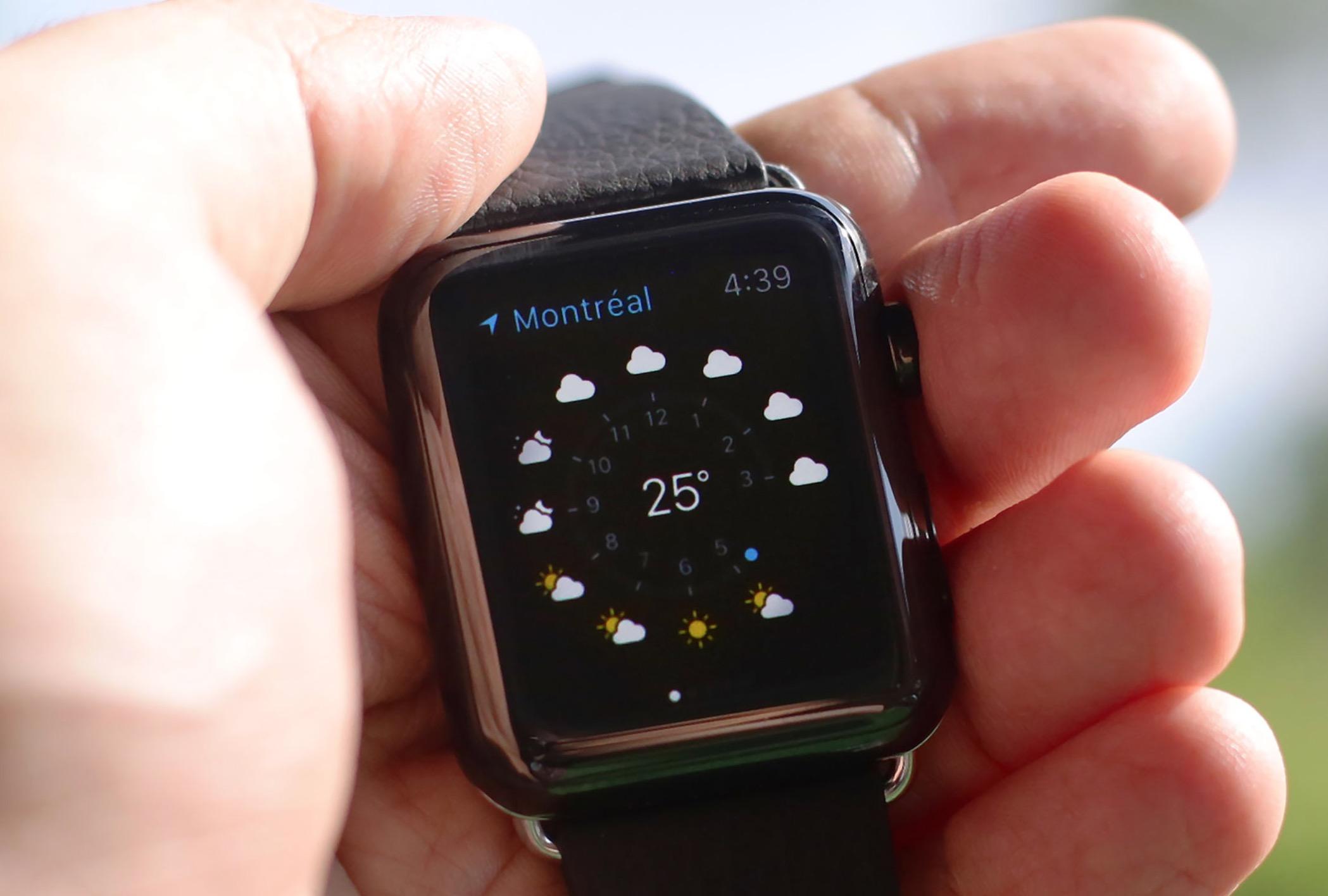 Meteo Apple Watch