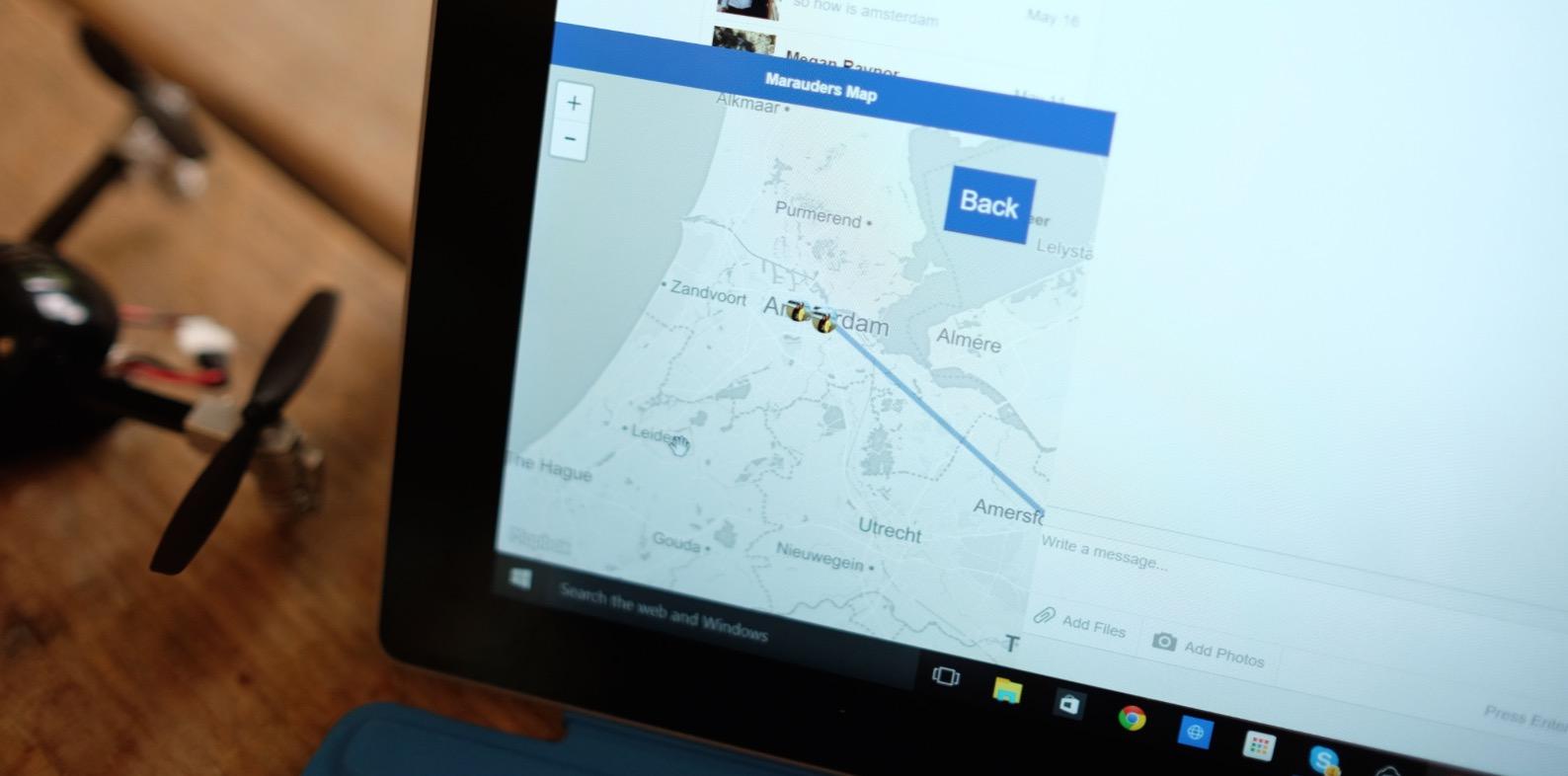 Mappa del Malandrino, l'estensione di Chrome traccia la posizione degli amici su Facebook