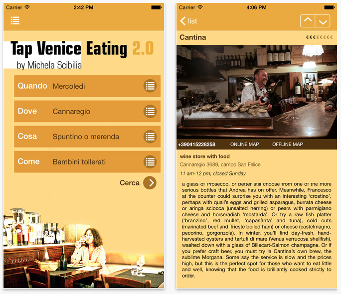 Tap Venice Eating 2