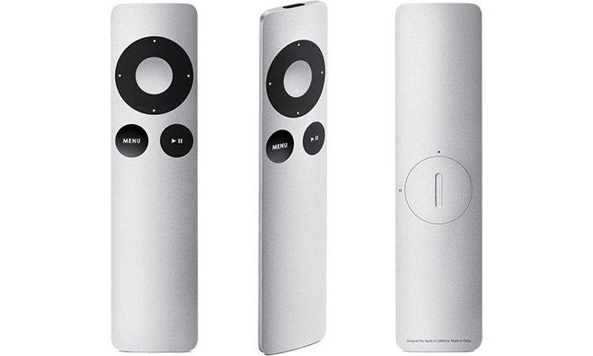 L'attuale telecomando Apple Remote
