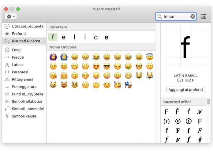 Emoji Mac, una scorciatoia per aggiungerle in un lampo