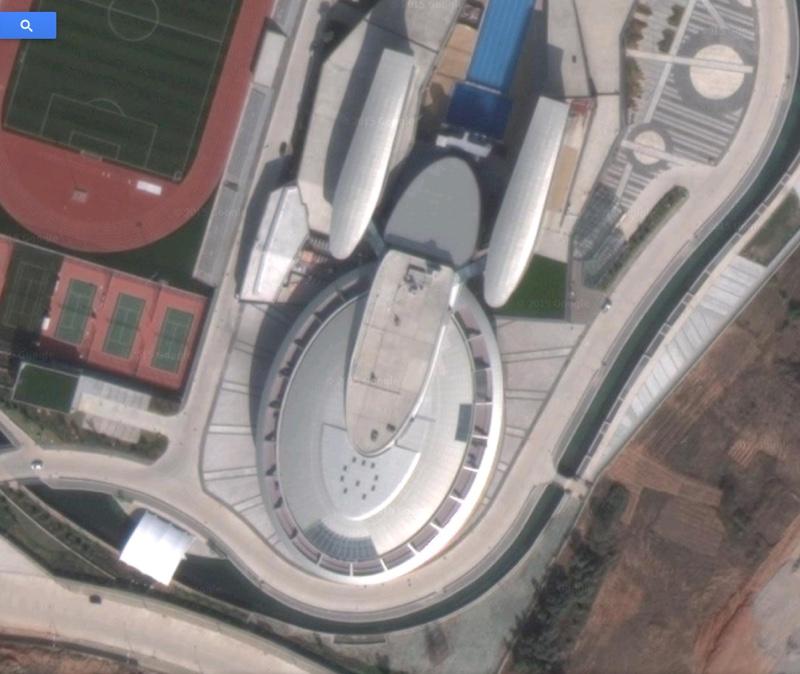In Cina l'edificio replica di Enterprise, l'astronave di Star Trek