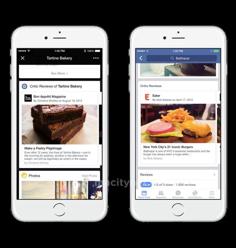facebook ristorante