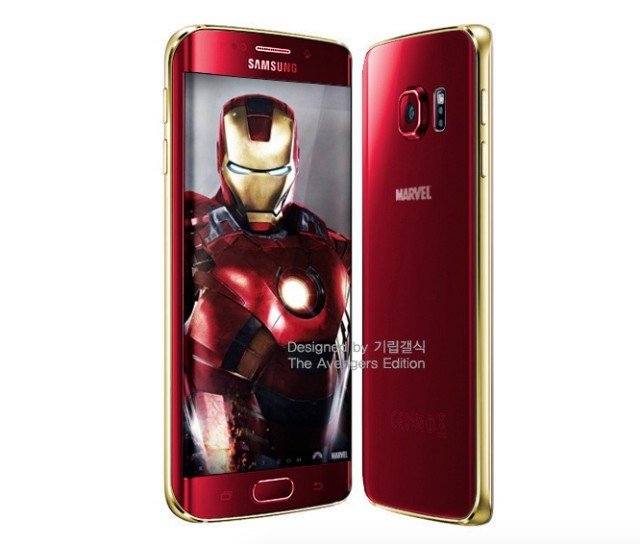 Galaxy S6 versione Iron Man