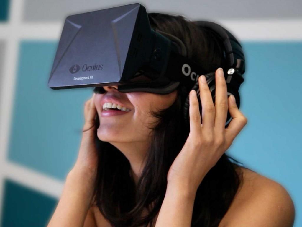 realtà virtuale oculus rift