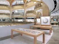 Apple chiude il negozio Apple Watch delle Galeries Lafayette a Parigi