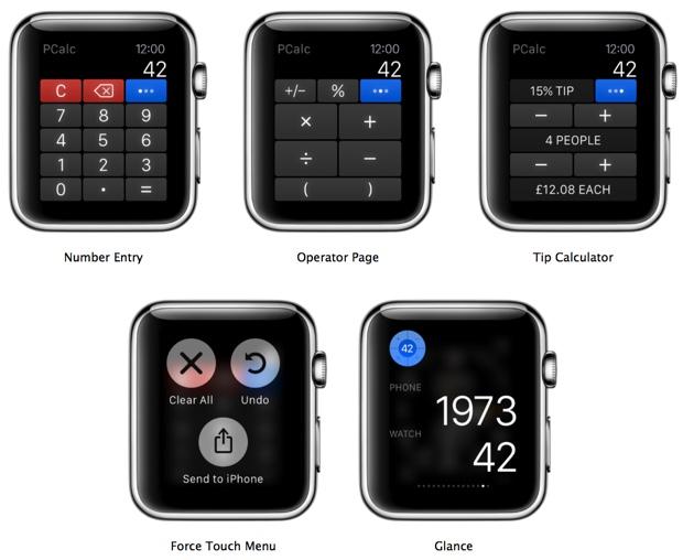 pcalc ios apple watch 620