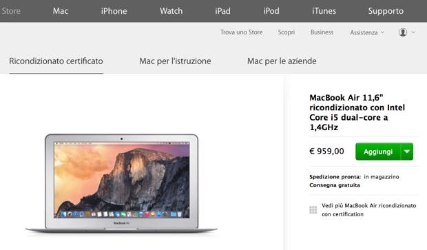 ricondizionati apple store 620 25 maggio