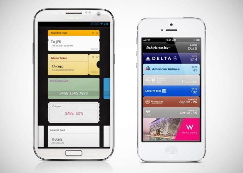samsung wallet e passbook icon